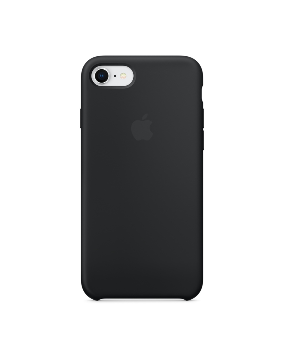 iphone 8 Silicone case Black
