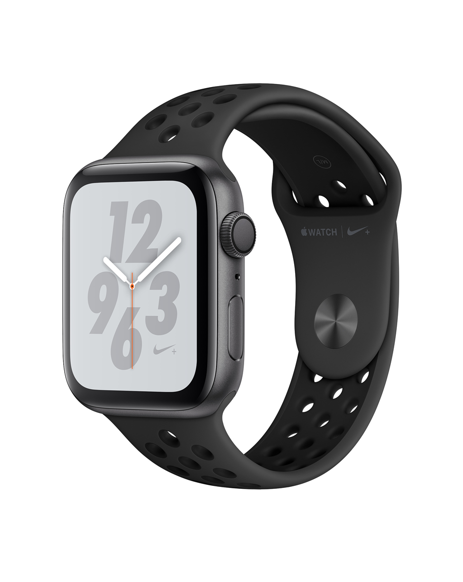 Apple Watch Series 4 Nike+ 44mm GPS Only Space Gray Aluminum Case with Black Sport Band