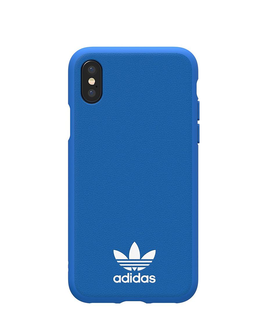 sports shoes 691c3 92f5e adidas Basic Logo TPU Moulded Case Blue for iPhone X