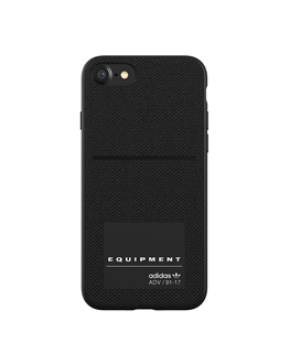 aa4a3f80965768 adidas EQT Molded Case Black For iPhone 8