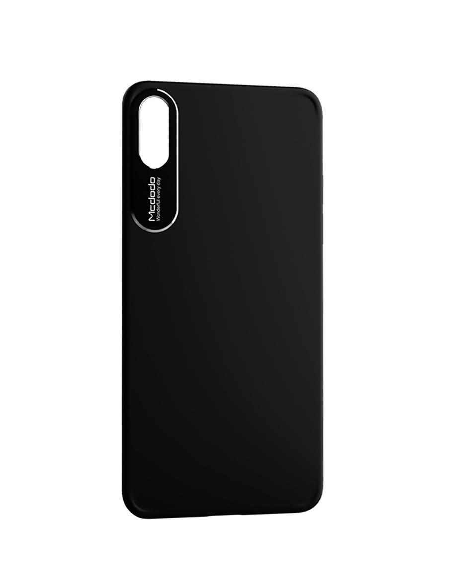 newest 66e5c 20ef4 Mcdodo Sharp Aluminum Alloy Case Black iPhone X