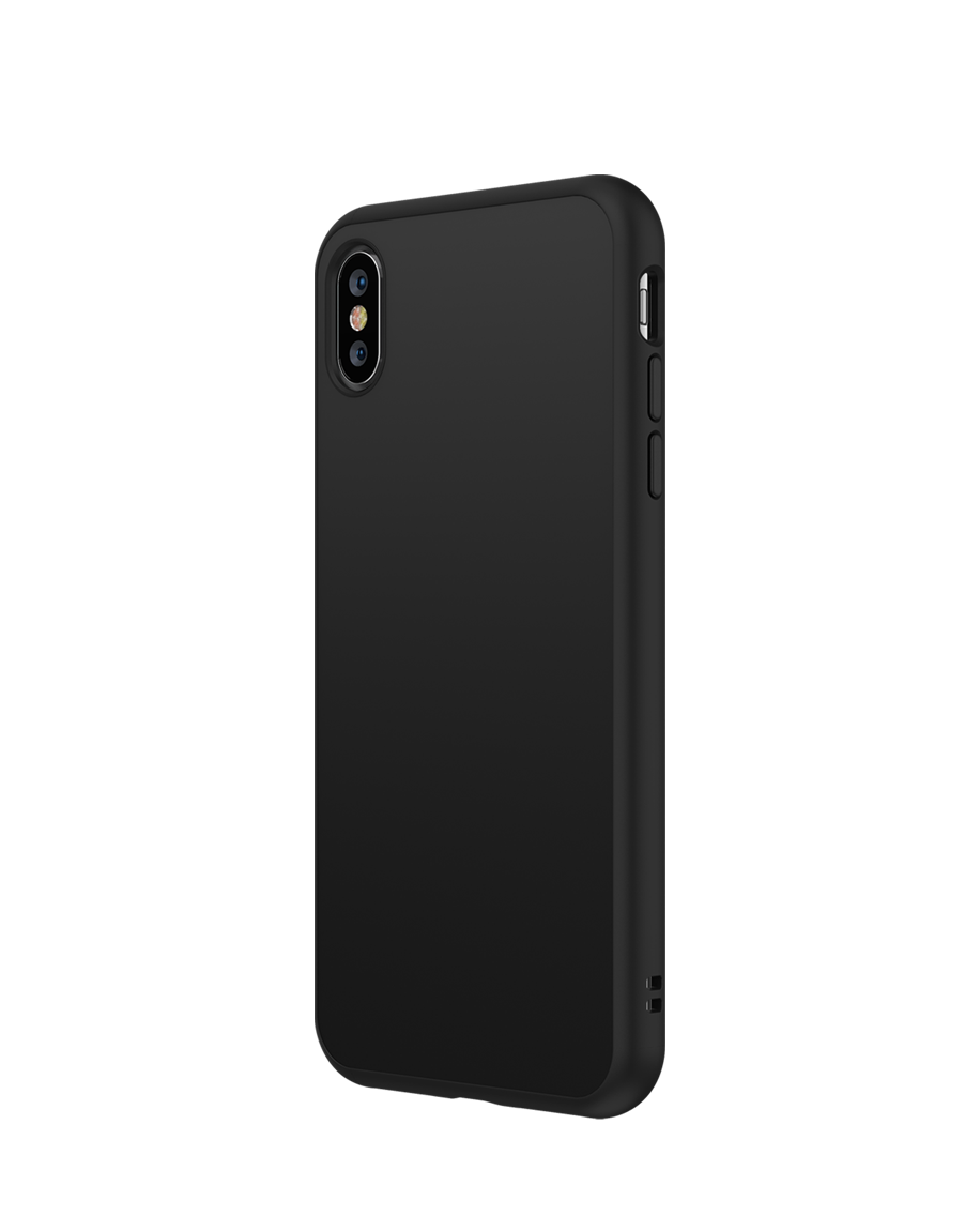 new style 216f8 c5583 RhinoShield SolidSuit Classic iPhone XS Black