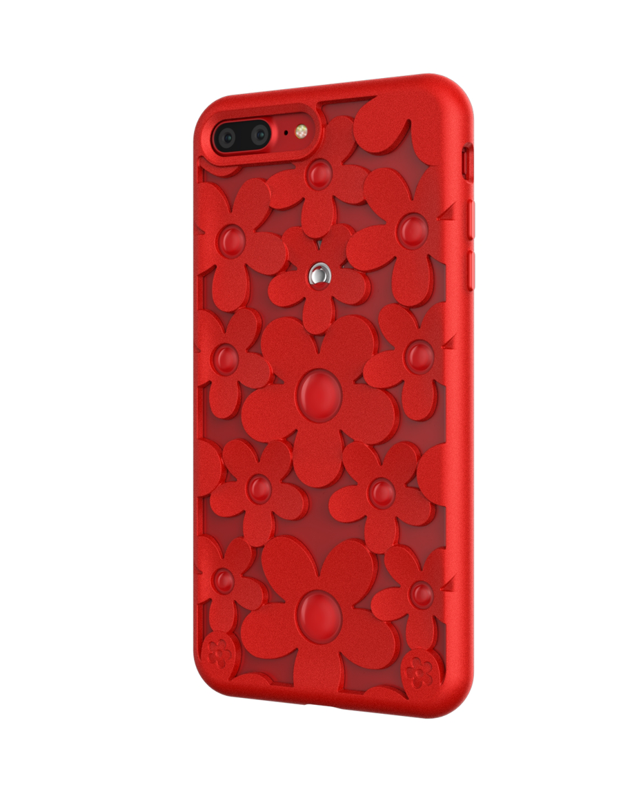 brand new ed46a 6d911 LINKEM STORES - SwitchEasy FLEUR Red For iPhone 7 Plus