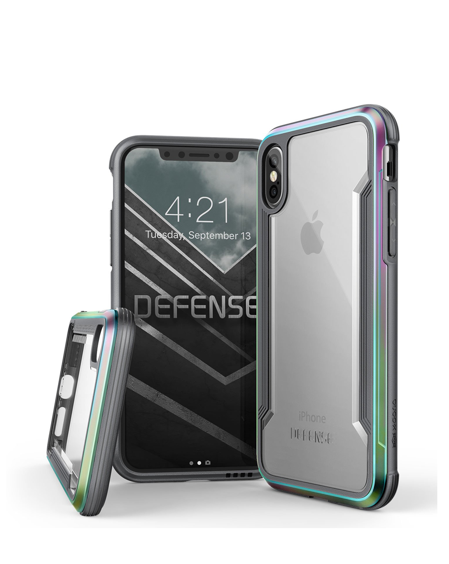 3e7fbd8240 LINKEM STORES - X-Doria iPhone X Case Defense Shield Iridescent