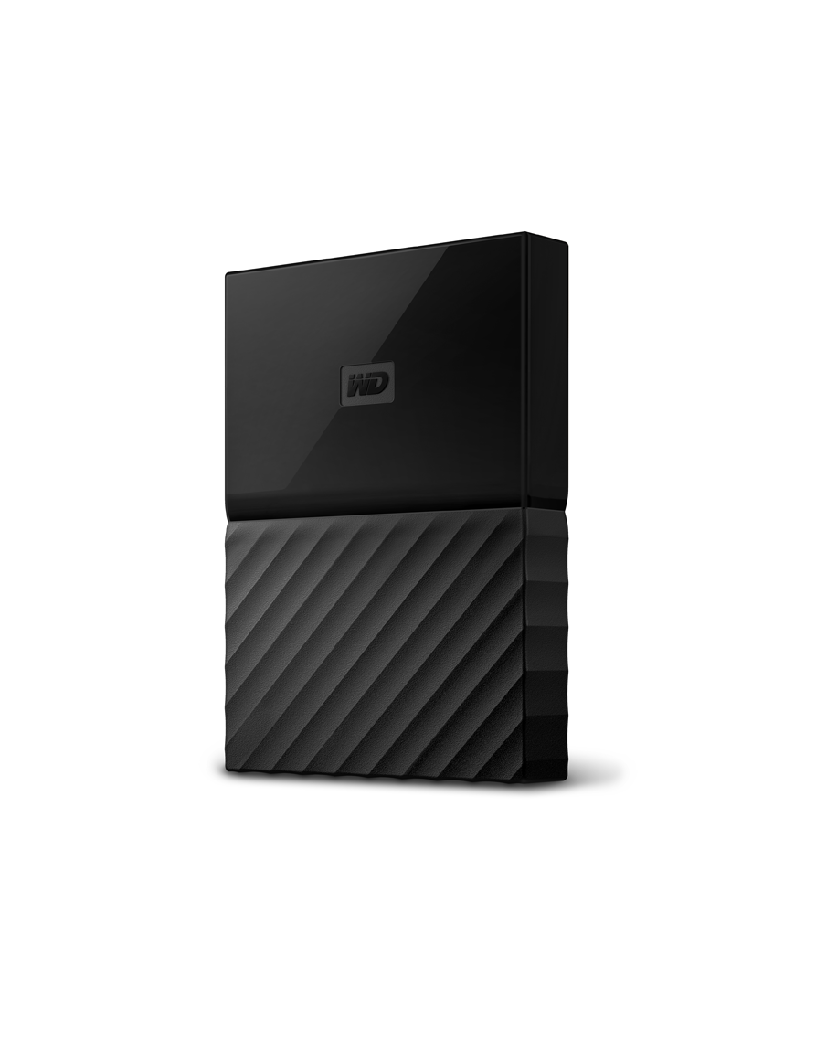 WD My Passport HD-EXT-2.5- 2T-Black
