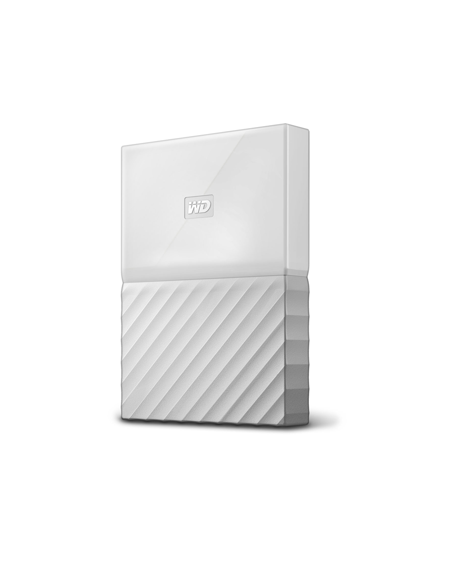 WD My Passport HD-EXT-2.5- 1T-White