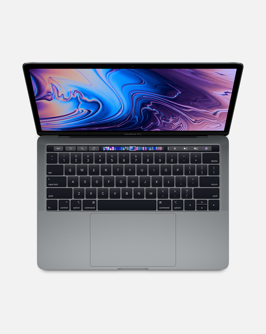 MacBook Pro 13-inch with Touch Bar: 2.4GHz Quad-Core Processor 256GB -Space Gray