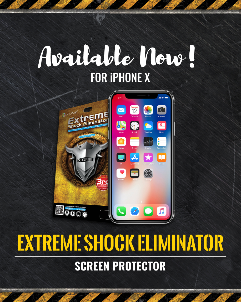 X.One® Extreme Shock iphone Xs Front & Backside